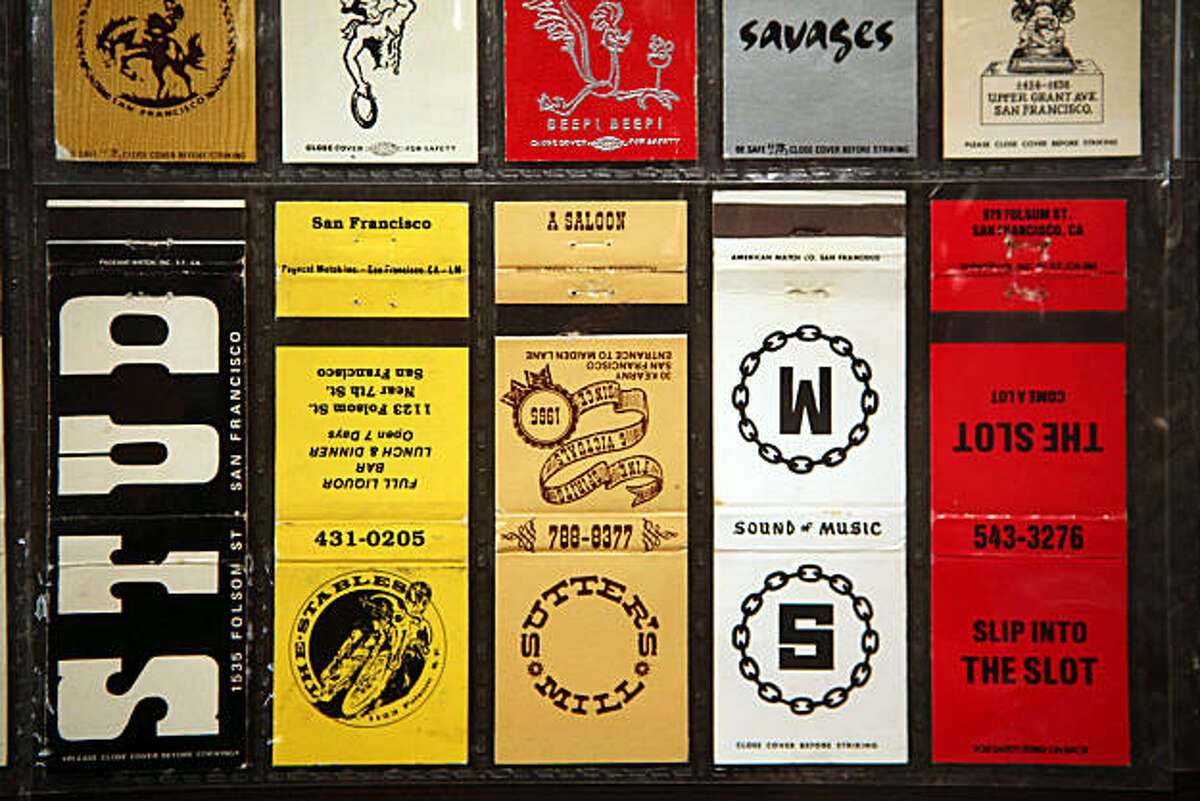 The GLBT (gay, lesbian, bisexual, transexual) history museum will open tomorrow in the Castro in San Francisco, Calif., with matchbooks from the city's gay bars from the 1950's to the 1990's ready for the exhibition on Tuesday, January 11, 2011.