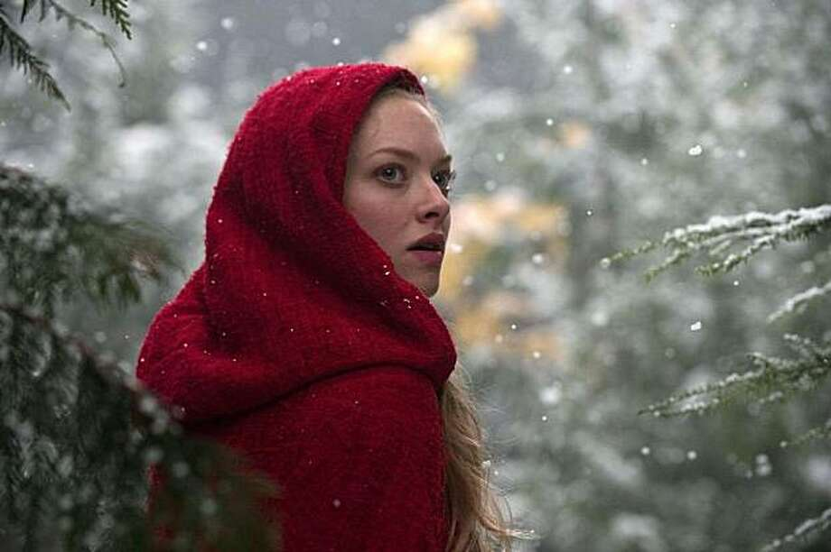 "Amanda Seyfried stars in ""Red Riding Hood."" Photo: Warner Bros."