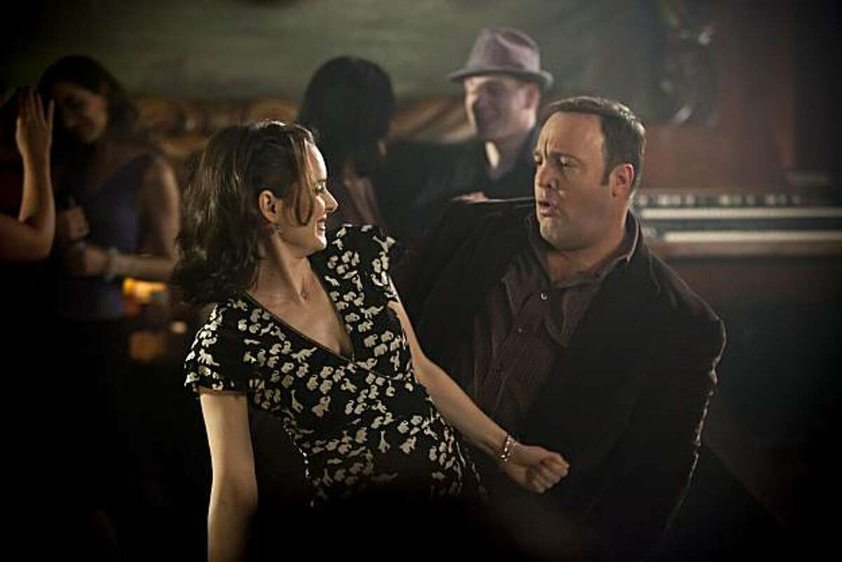 Geneva (WINONA RYDER) and Nick (KEVIN JAMES) in a comedy about a man who finds out that what you don't say to a friend is just as important as what you do--