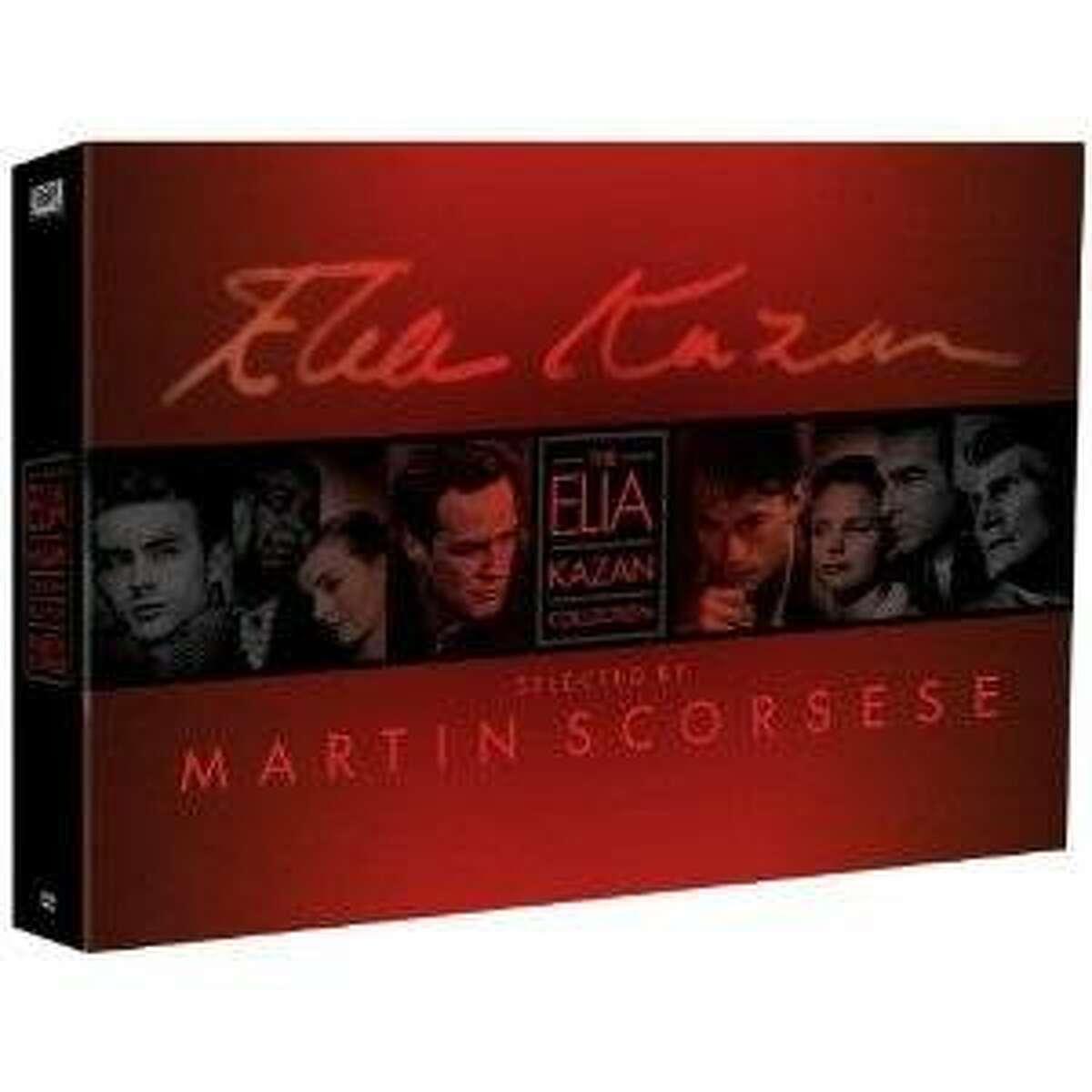 dvd box: THE ELIZ KAZAN COLLECTION