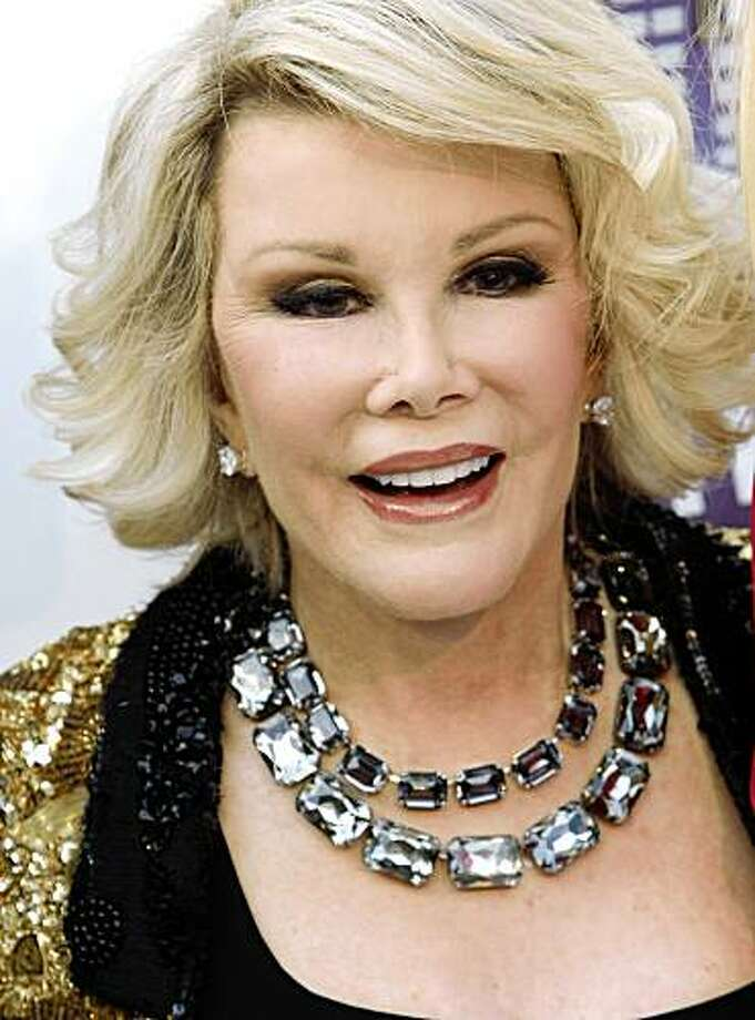 Joan Rivers is very vocal about her many plastic surgeries. Photo: Dan Steinberg, AP