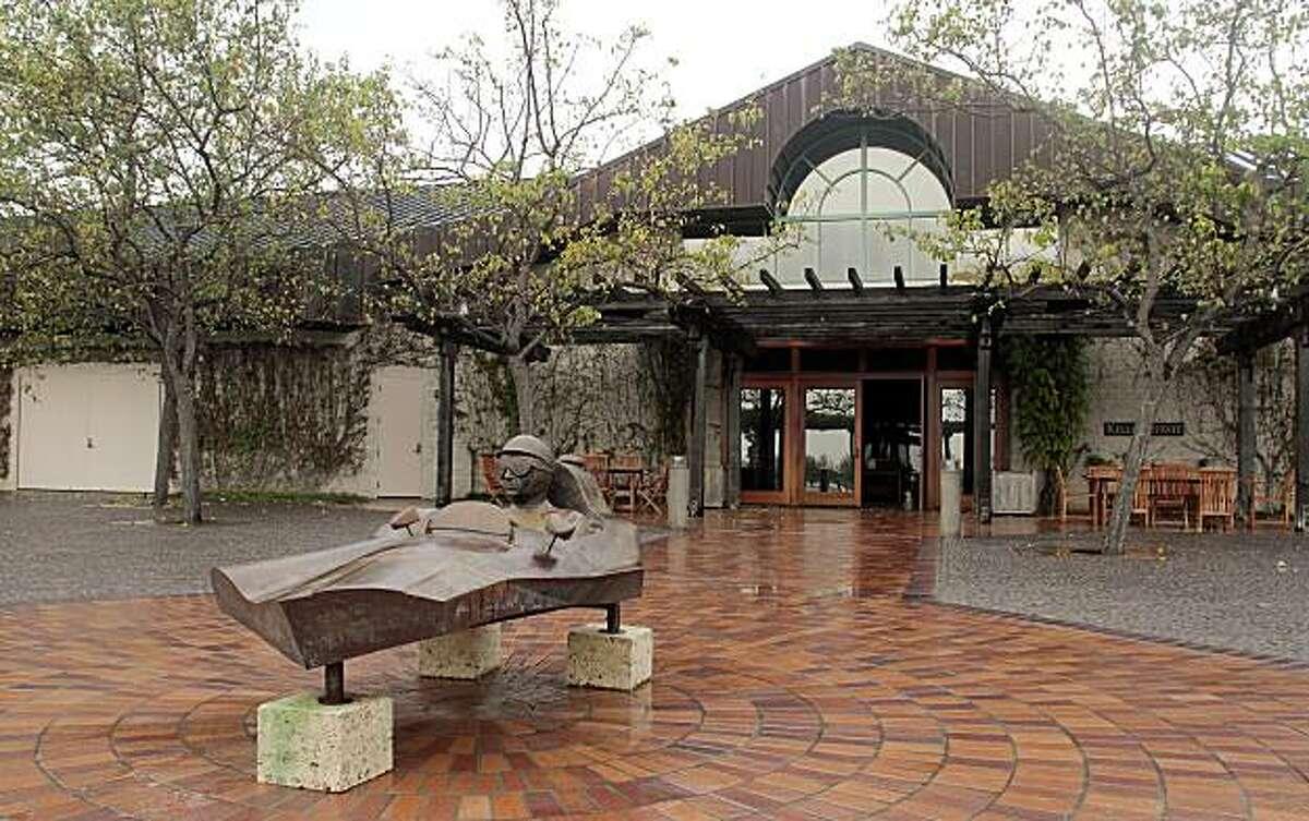 The exterior of the Keller Estate winery tasting room in Petaluma , Calif., is seen on Sunday, Dec. 5, 2010.