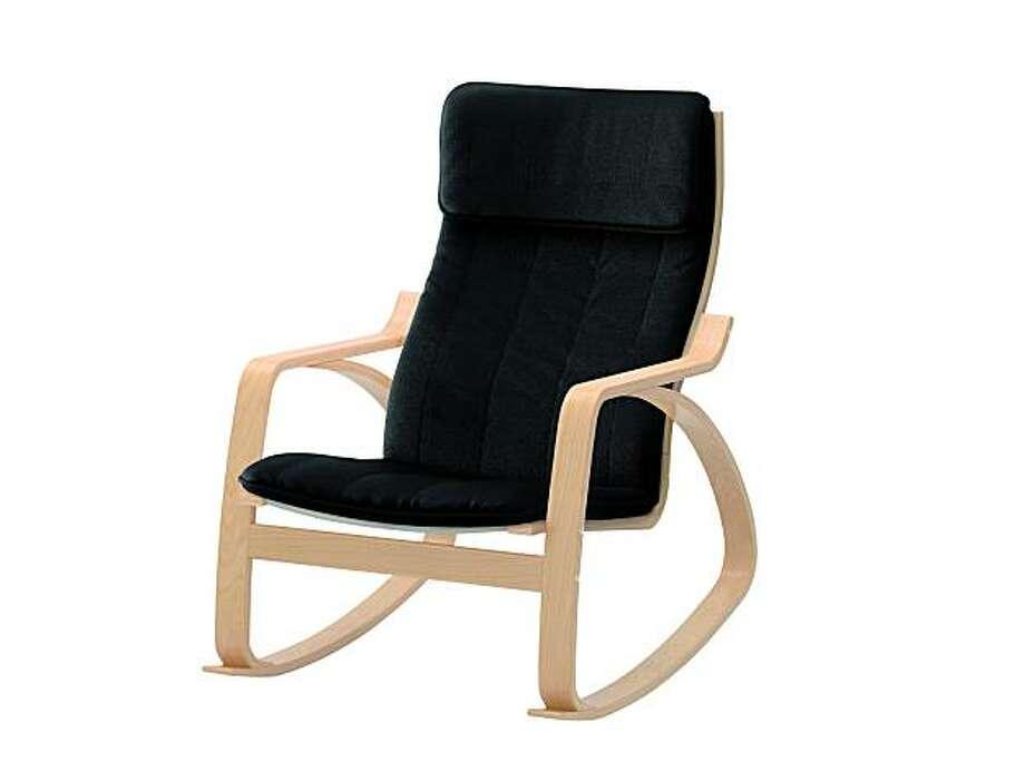 Poang Rocking Chair From Ikea. Photo: Ikea.com