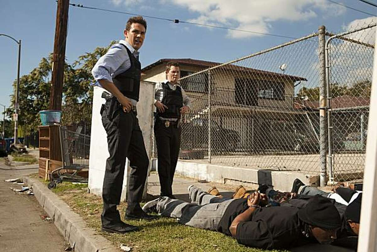 Shawn Hatosy and Kevin Alejandro in the TNT series of Southland Program Title:Southland Image Title:Southland- Punching Water Season:3 Episode:Jan 11- Punching Water Photo Credit:Doug Hyun
