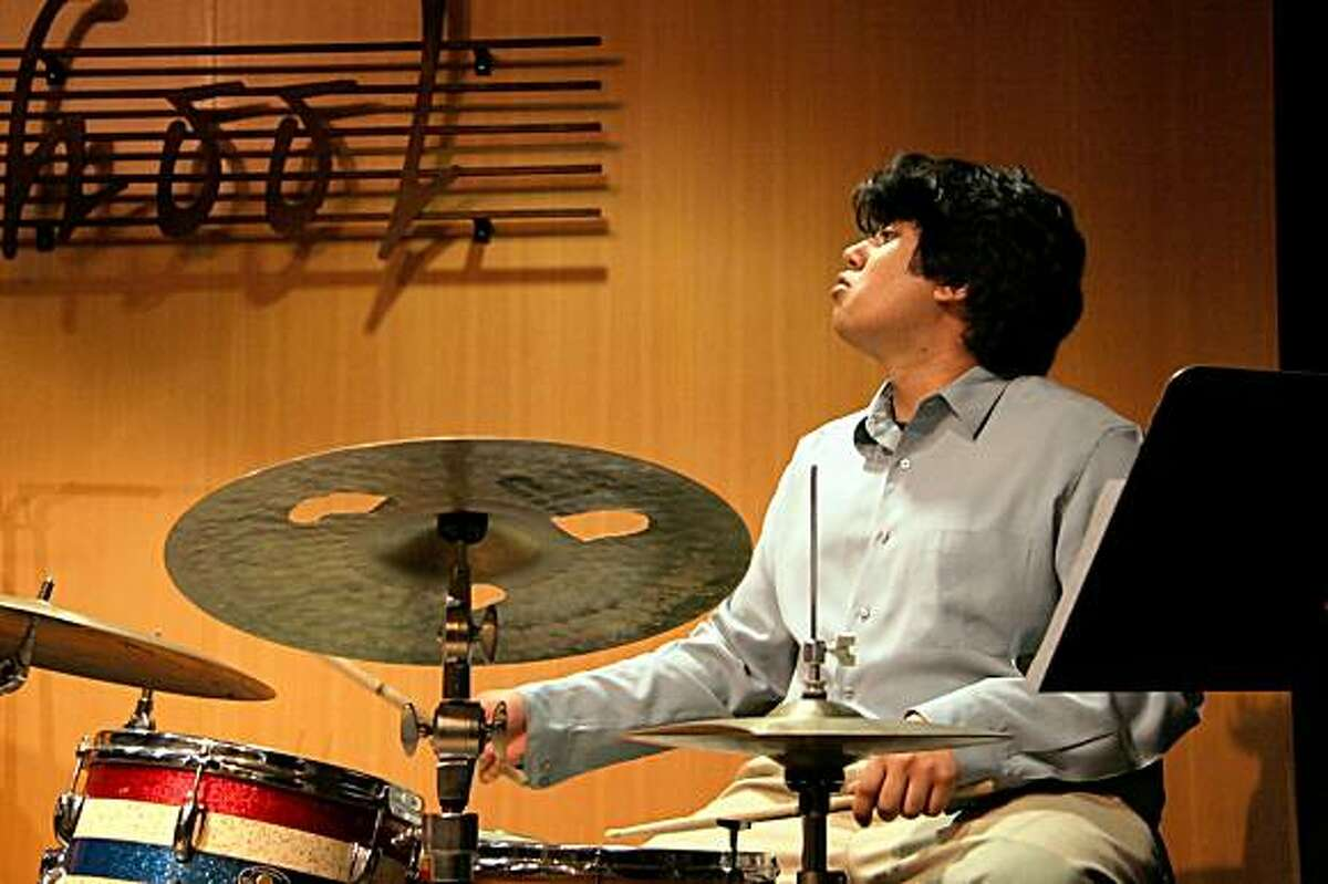 Jazzschool student Hamir Atwal plays in a recent concert.