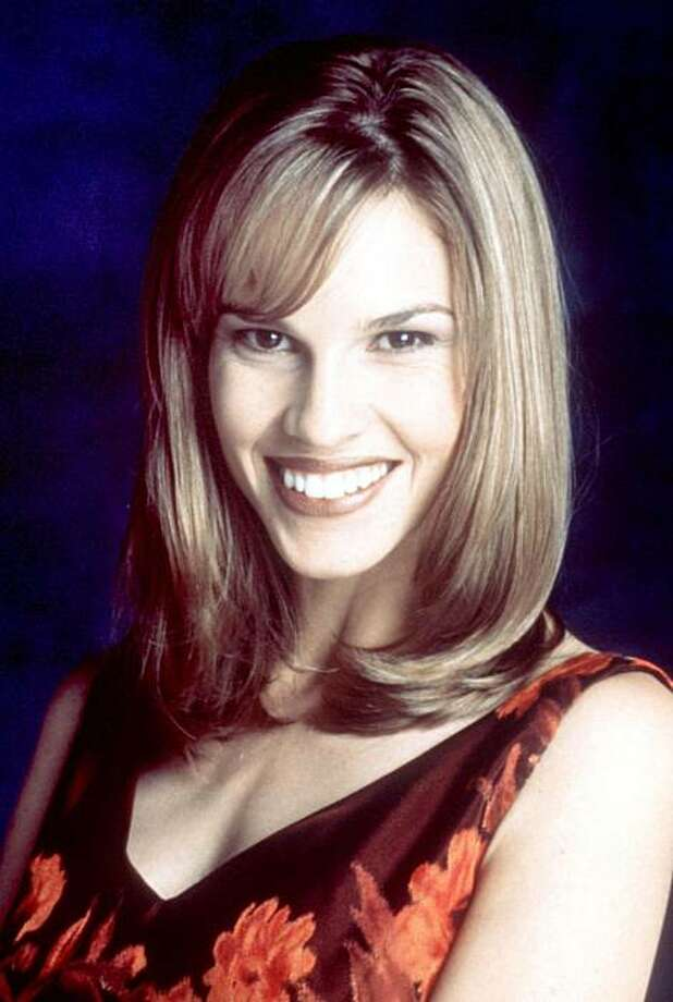 Hilary Swank, 1997, age 22 or 23. Photo: File Photo