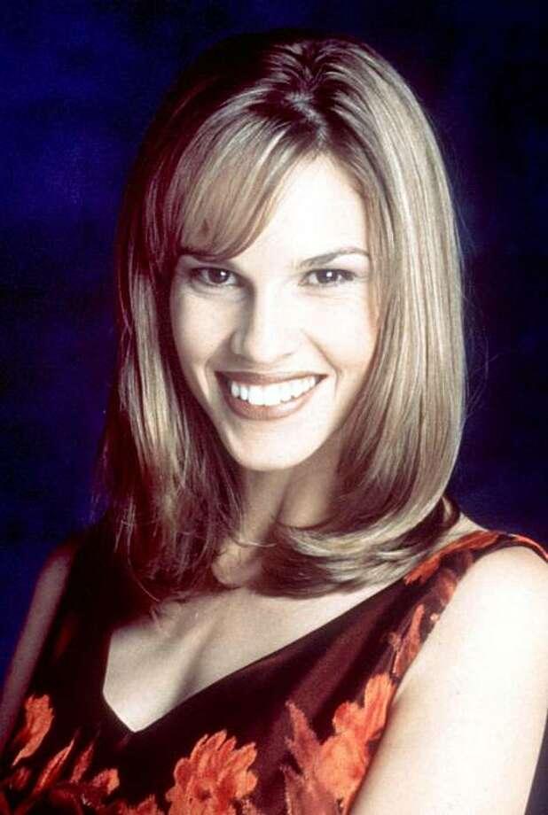 Hilary Swank, 1997, age 22 or 23. Photo: File Photo