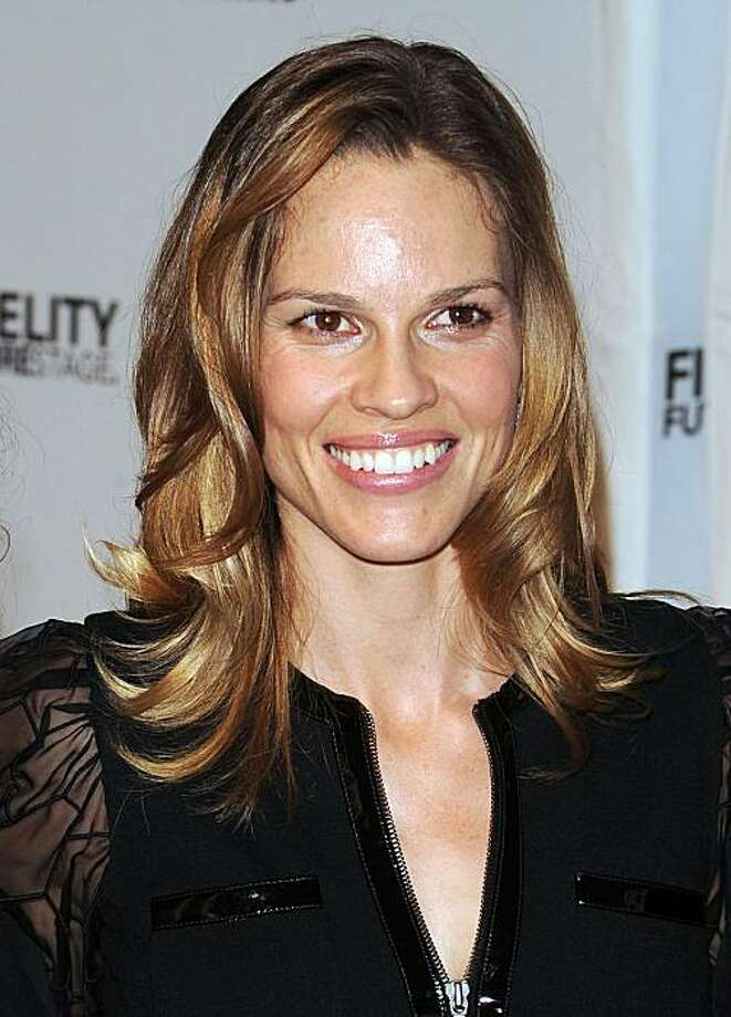 Hilary Swank, June 14, 2010, age 35. Photo: File Photo