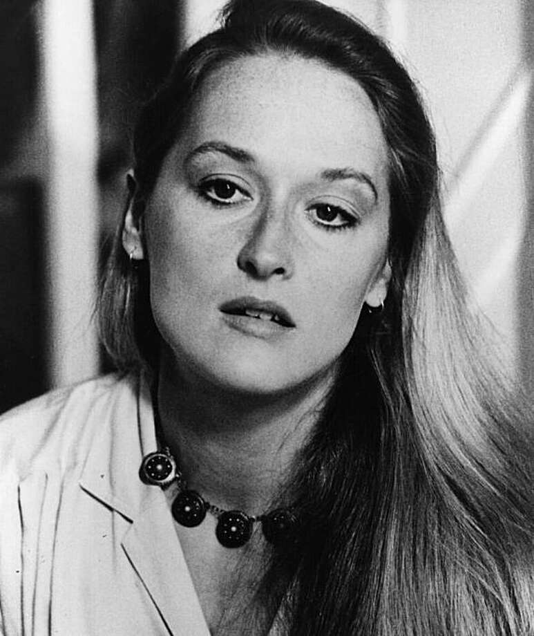 Now, here are some past Oscar winners. Meryl Streep, circa 1974, age 24 or 25. Photo: File Photo