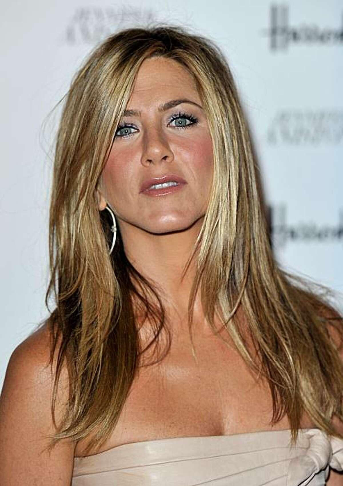 Jennifer Aniston, July 21, 2010, age 41.