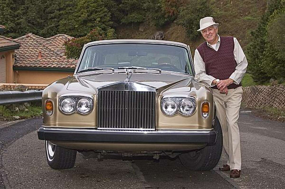 The most prestigious vehicle I have ever owned is my 1975 Rolls-Royce Silver Shadow Saloon, which is champagne-colored with black inserts and cream leather hides inside.