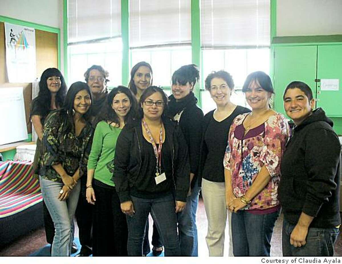 Staff members from San Francisco's Teenage Pregnancy and Parenting Project.