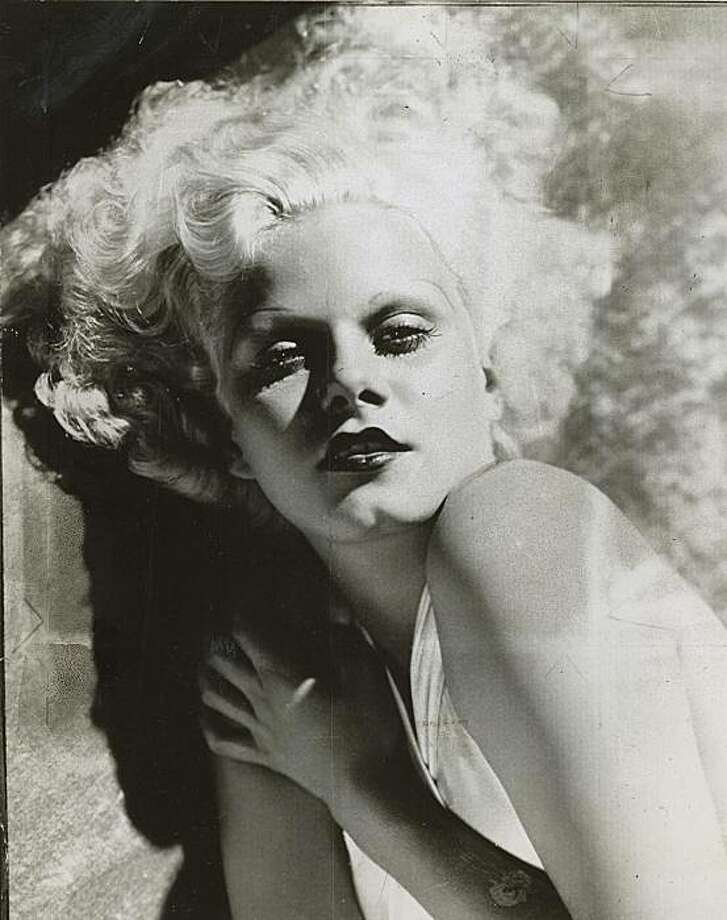 Jean Harlow came to San Francisco in 1932, after her husband's suicide. Photo: Mgm