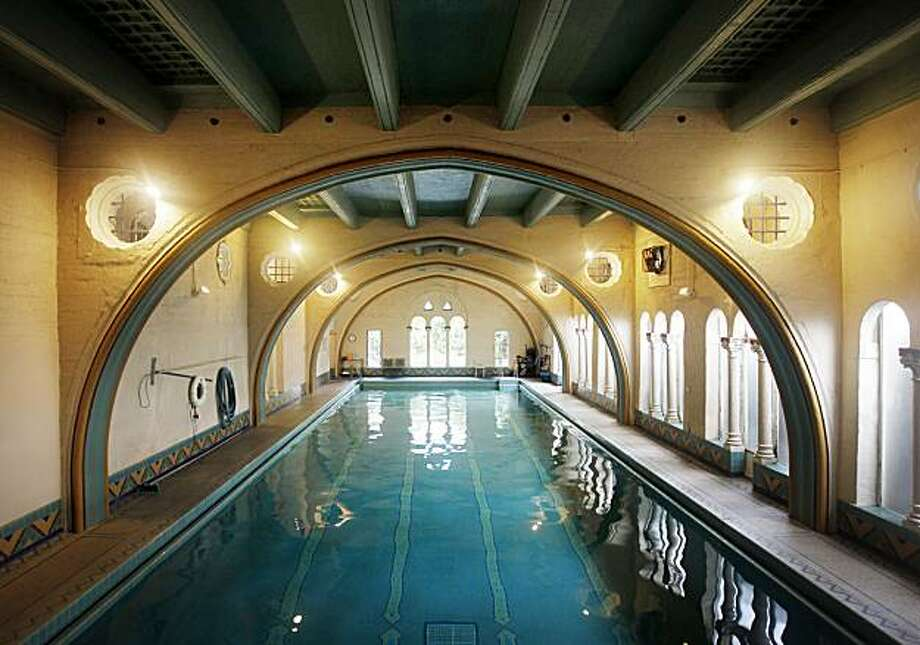 The indoor pool is seen at the Berkeley City Club in Berkeley, Calif., on Tuesday, Dec. 21, 2010. The Gothic-style building, designed by famed architect Julia Morgan in 1929, was originally built for the Berkeley Women's City Club. Photo: Paul Chinn
