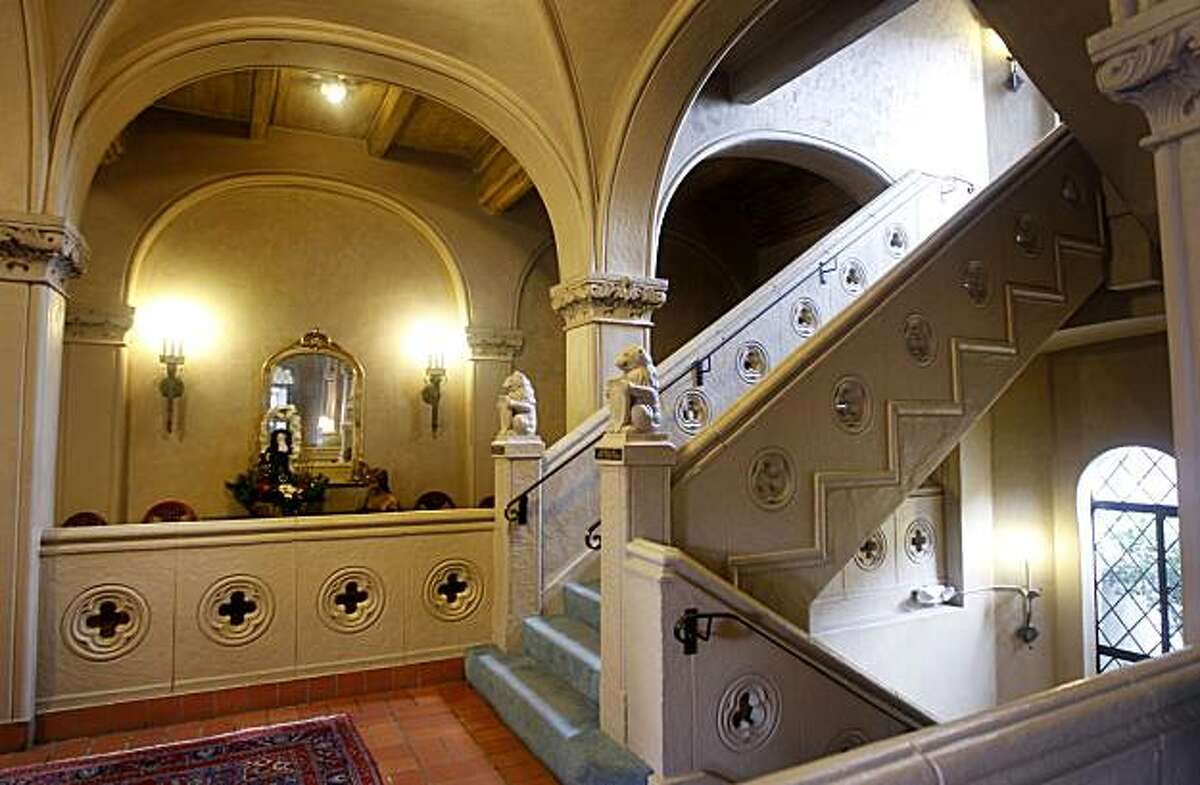 Ornate arches and stair cases converge inside the Berkeley City Club in Berkeley, Calif., on Tuesday, Dec. 21, 2010. The Gothic-style building, designed by famed architect Julia Morgan in 1929, was originally built for the Berkeley Women's City Club.