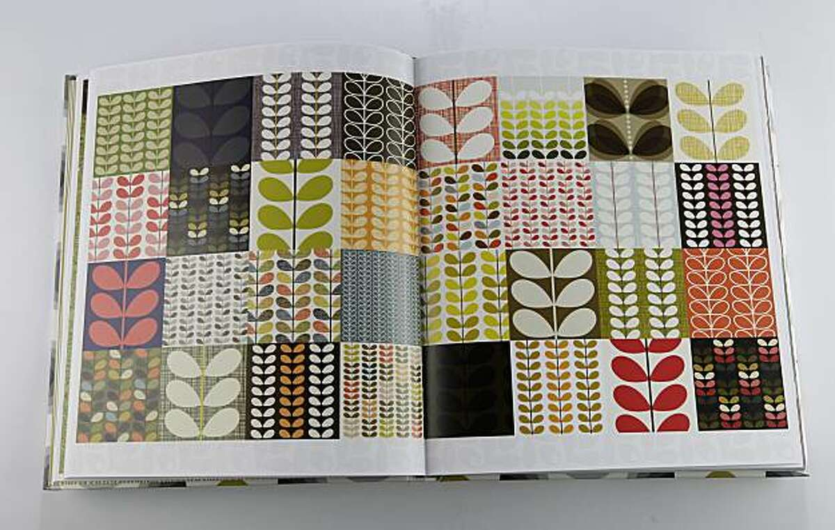Orla Kiely's eye for bold, colorful graphics plays out in pages that beg to be left open and shown off.