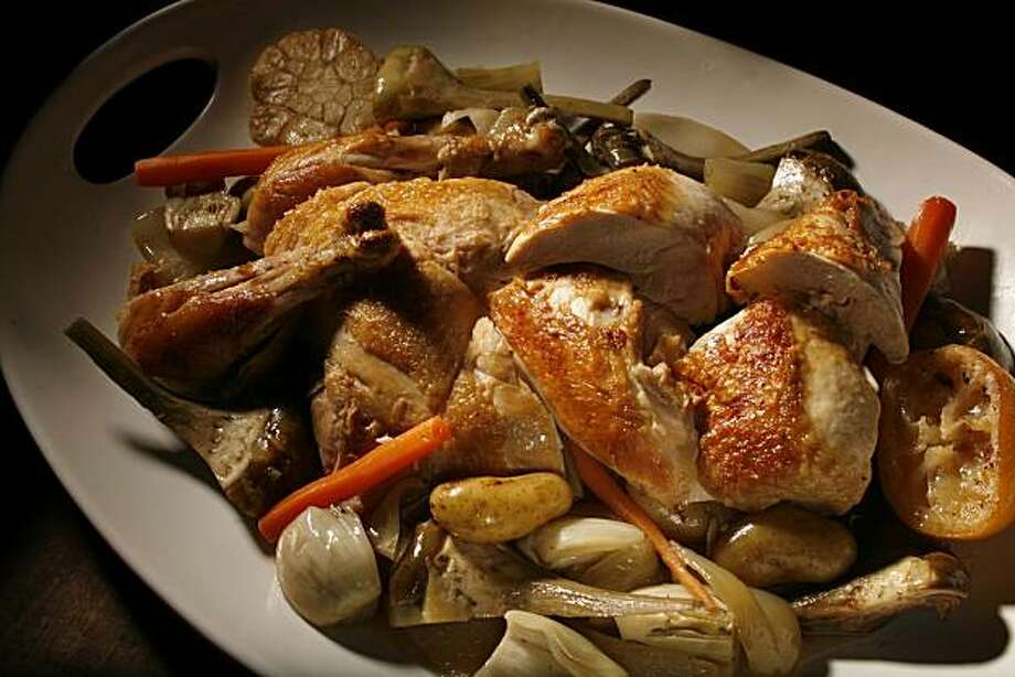 Roast Chicken recipe from French Laundry chef Timothy Hollingsworth, San Francisco, Calif. Wednesday February 24, 2010 Photo: Jana Asenbrennerova, The Chronicle