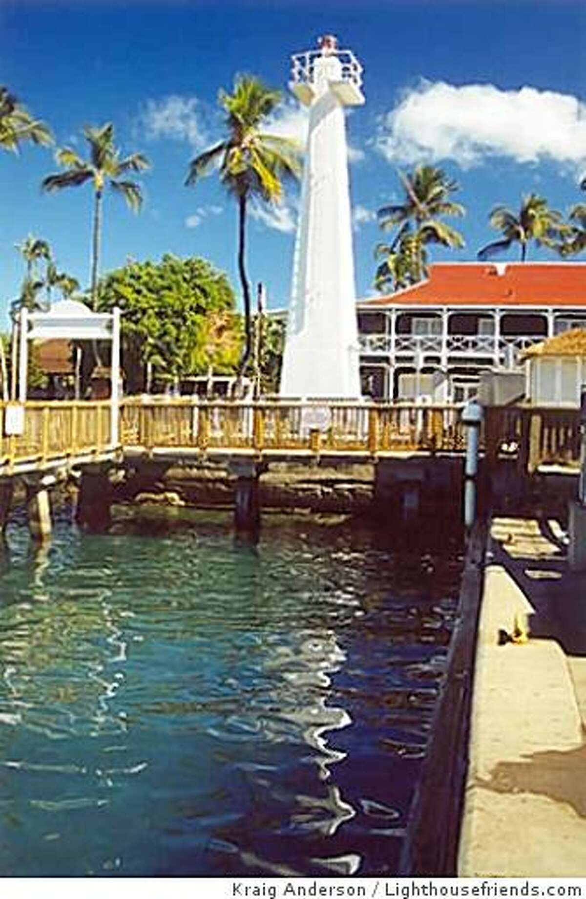 The Lahaina Lighthouse is Hawaii's first major beacon to become solar powered; a smaller light at McGregor Point, also on Maui, started the trend in 2008.