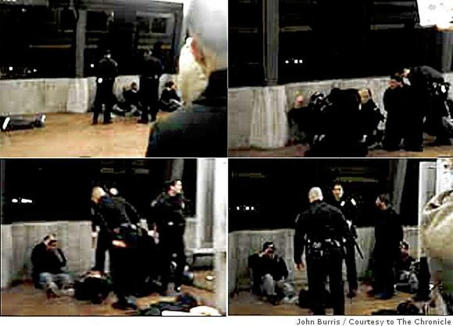 BART shooting captured on video - SFGate