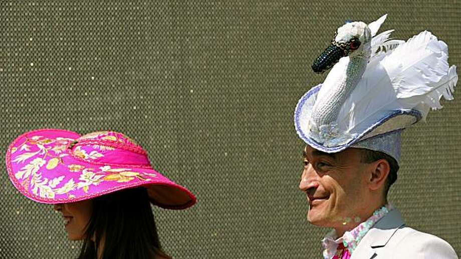 Hats off to creative fashion at Royal Ascot Races - SFGate 00e6caf79a09