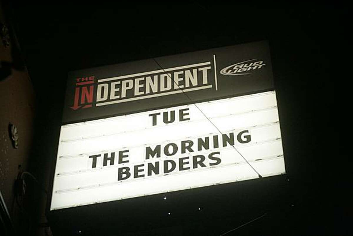 The Morning Benders headlined at the Independent on March 30th, 2010.