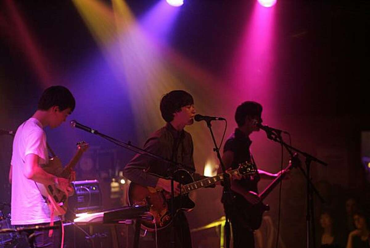 The Morning Benders headlining a sold-out show at the Independent on March 30th, 2010.