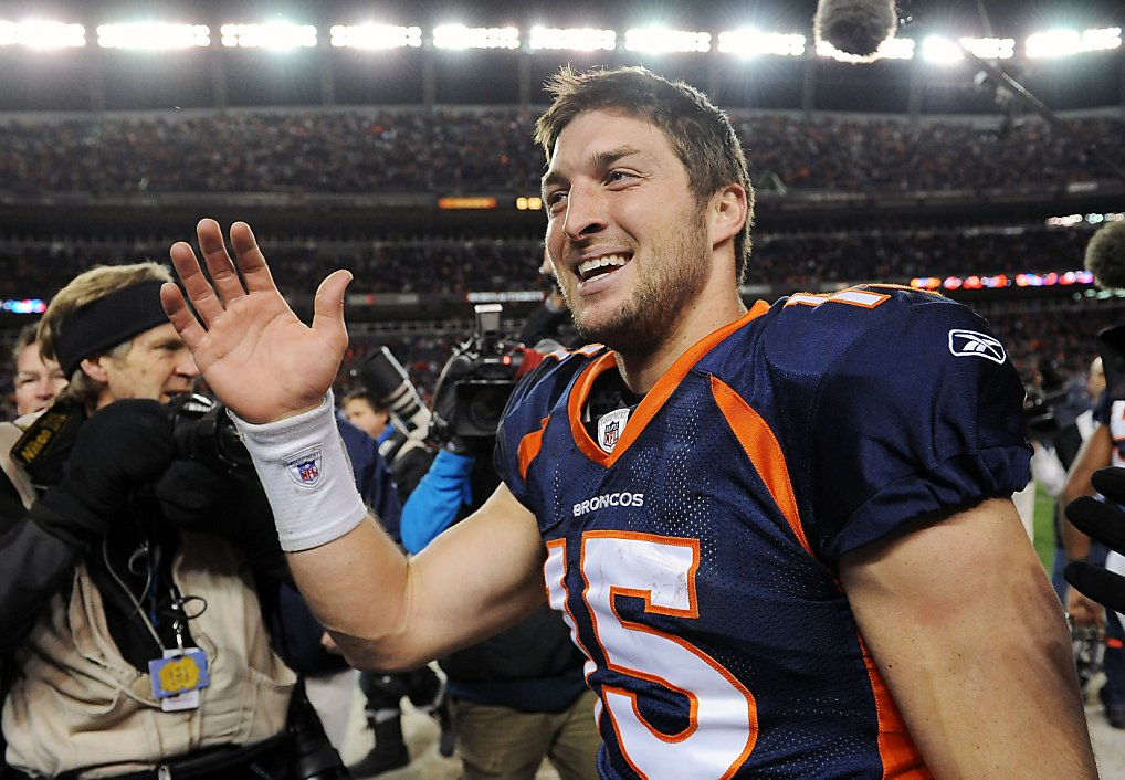 Tebow's debut