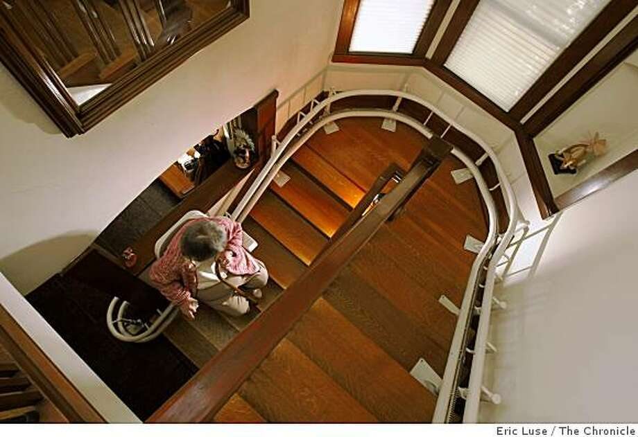 Stair lifts bridge mobility gap without being intrusive - SFGate