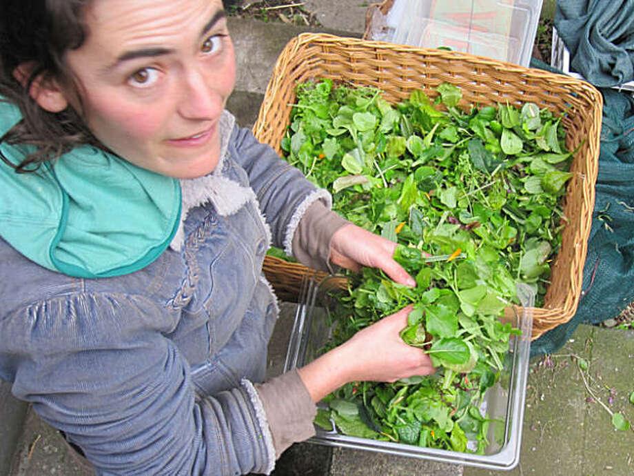 Brooke Budner of Little City Gardens. Photo: Courtesy Of Little City Gardens