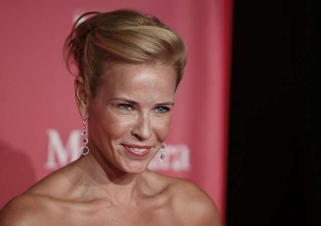 Chelsea Handler arrives at the Women in Film Crystal Lucy Awards on Friday June 12, 2009, in Los Angeles. Photo: Matt Sayles, AP