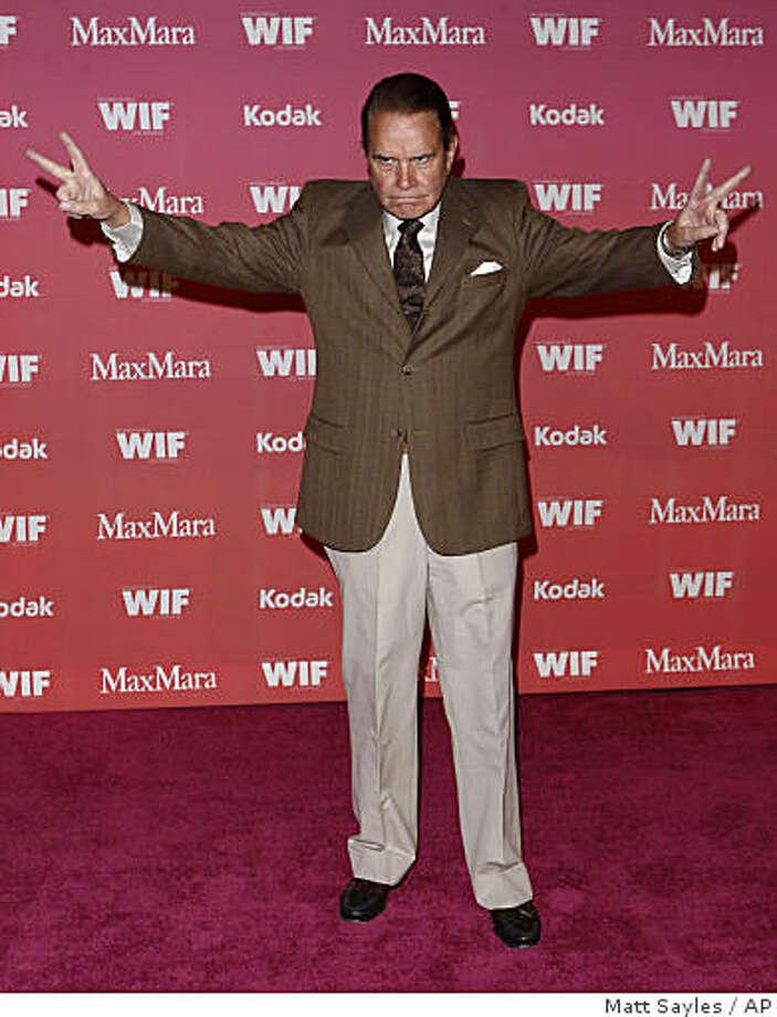 Comedian Rich Little is 78. Photo: Matt Sayles, AP