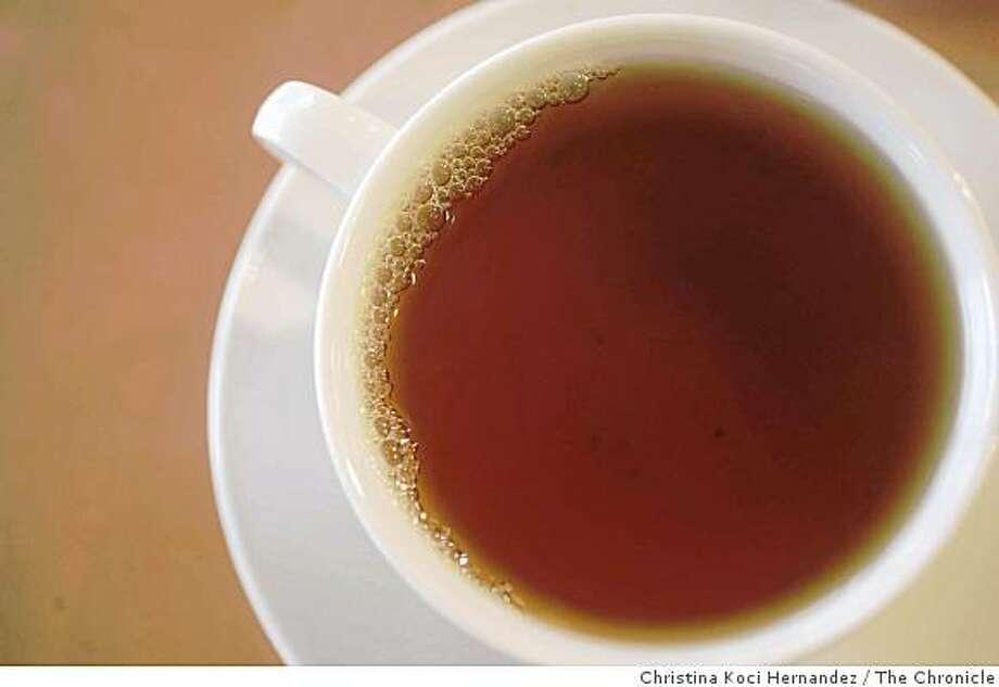 cup of tea Photo: Christina Koci Hernandez, The Chronicle