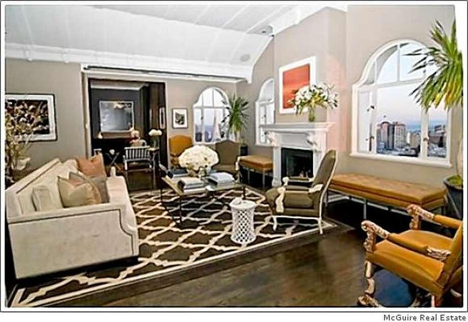 Newsom apartment. Photo: McGuire Real Estate