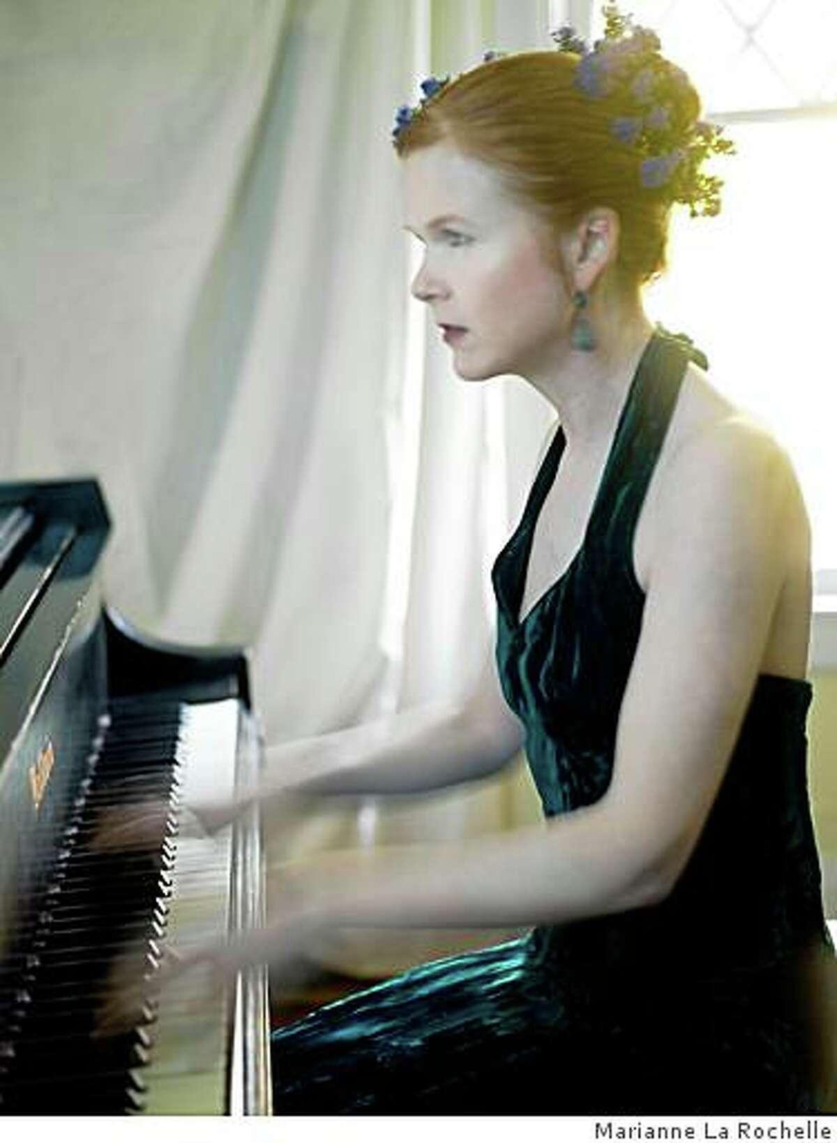 Sarah Cahill performs
