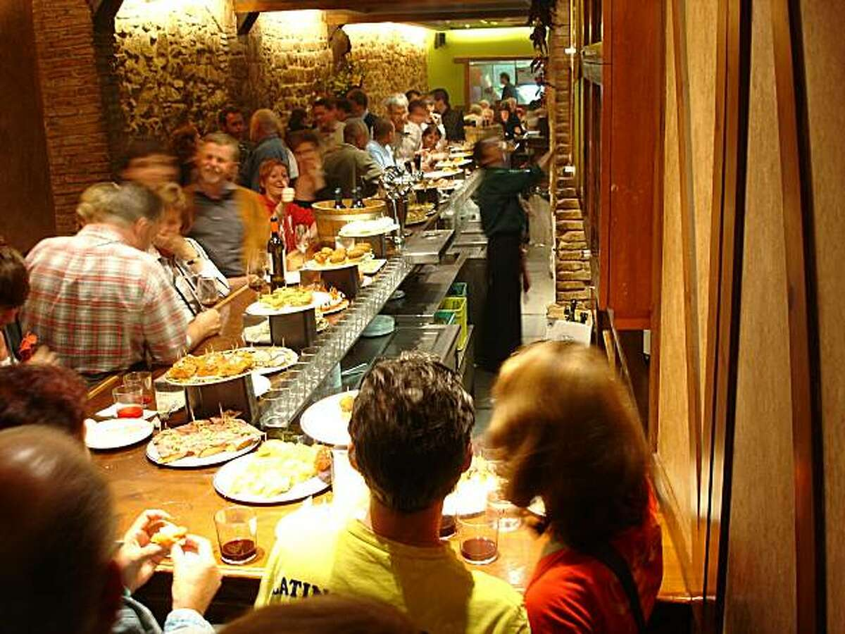 This Barcelona tapas bar doesn't even start rocking until 9 p.m.