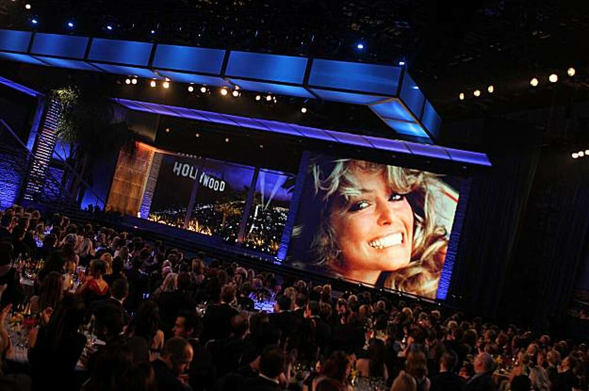 Farah Fawcett was honored at the eighth annual TV Land Awards on Saturday, April 17, 2010, in Los Angeles.