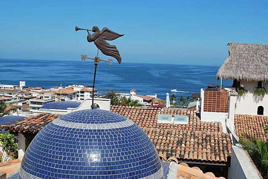 Views of Puerto Vallarta from Hacienda San Angel. Photo: Maribeth Mellin