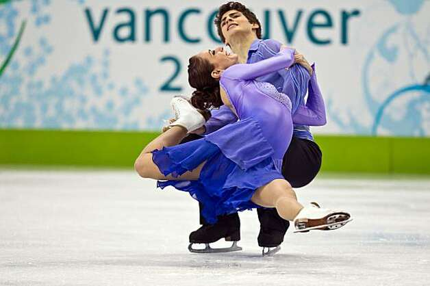 Vanessa Crone and Paul Poirier of Canada perform during the ice dancing free skate at the 2010 Winter Olympics on Monday, Feb. 22, 2010, in Vancouver. ( Smiley N. Pool / Houston Chronicle)Vanessa Crone and Paul Poirier of Canada perform during the ice dancing free skate at the 2010 Winter Olympics on Monday, Feb. 22, 2010, in Vancouver. Photo: Smiley N. Pool, Chronicle Olympic Bureau