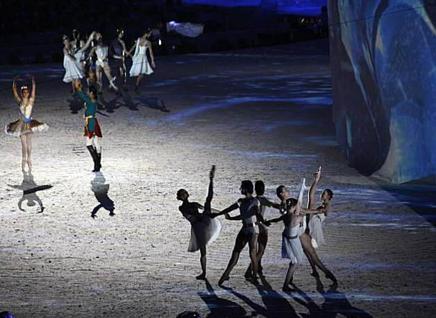 Ballet dancers perform during a presentation to showcase Sochi, Russia, the host of the 2014 Games, during the Closing Ceremonies of the Winter Olympic Games in Vancouver, British Columbia, on Sunday, Feb. 28, 2010. Paul Chinn/Chronicle Olympic BureauBallet dancers perform during a presentation to showcase Sochi, Russia, the host of the 2014 Games, during the Closing Ceremonies of the Winter Olympic Games in Vancouver, British Columbia, on Sunday, Feb. 28, 2010. Photo: Paul Chinn, The Chronicle