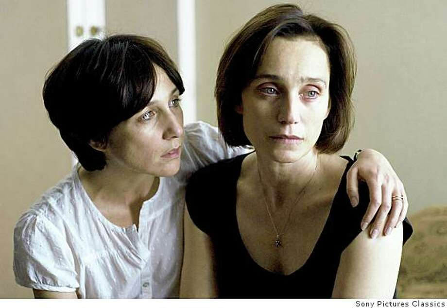 """Elsa Zylberstein and Kristin Scott Thomas in """"I've Loved You So Long"""" Photo: Sony Pictures Classics"""