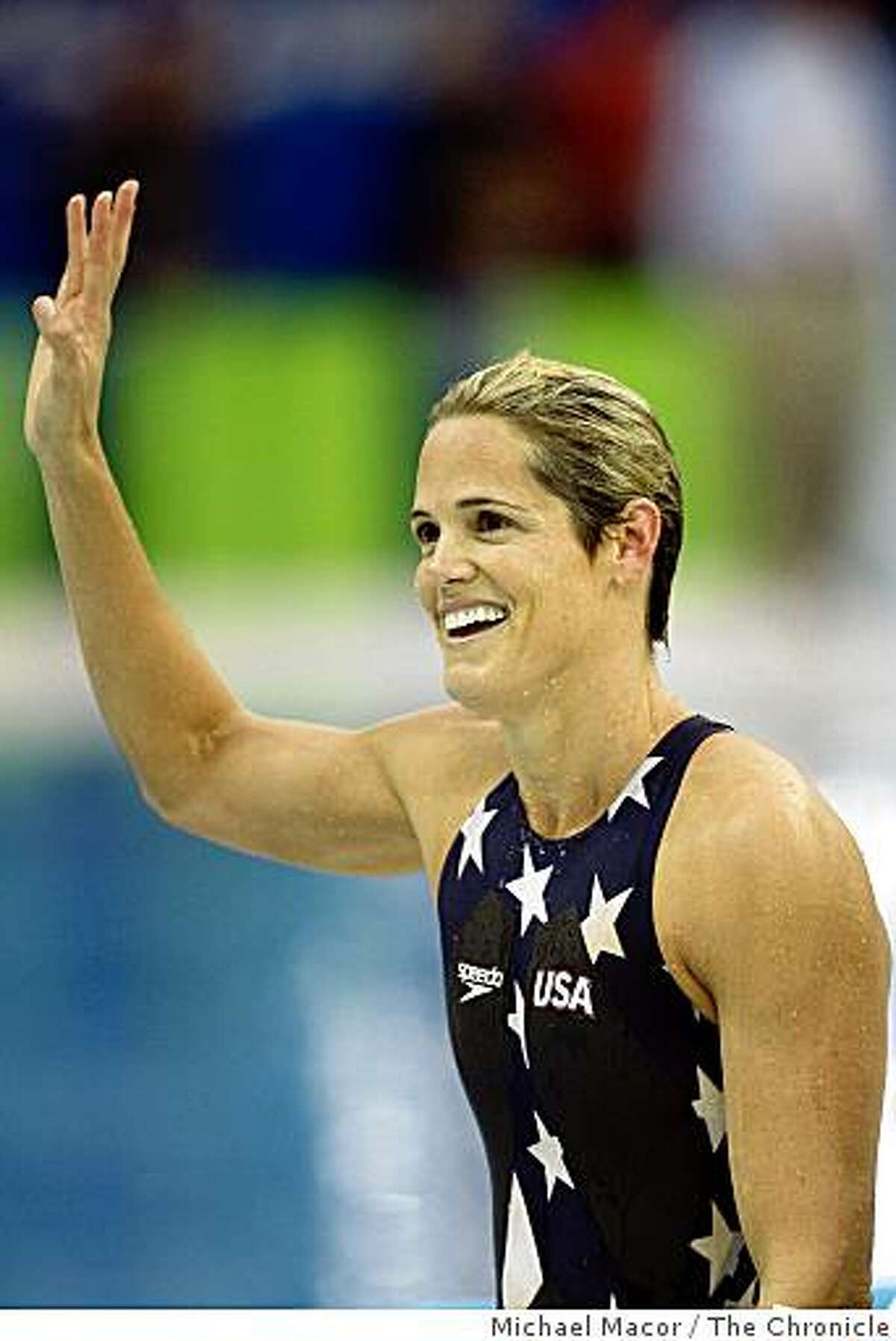 Dara Torres captures the silver medal in the women's 50m freestyle final.