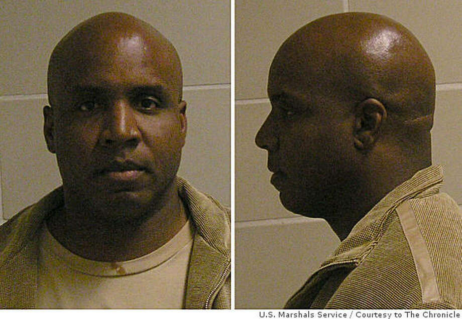Former Giants slugger Barry Bonds' booking photo shot at the Oakland federal courthouse on December 6, 2007 in Oakland, Calif. Photo: U.S. Marshals Service, Courtesy To The Chronicle