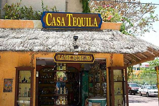 Casa Tequila in Playa del Carmen offers tastings and a wide selection of tequilas. Photo: Maribeth Mellin