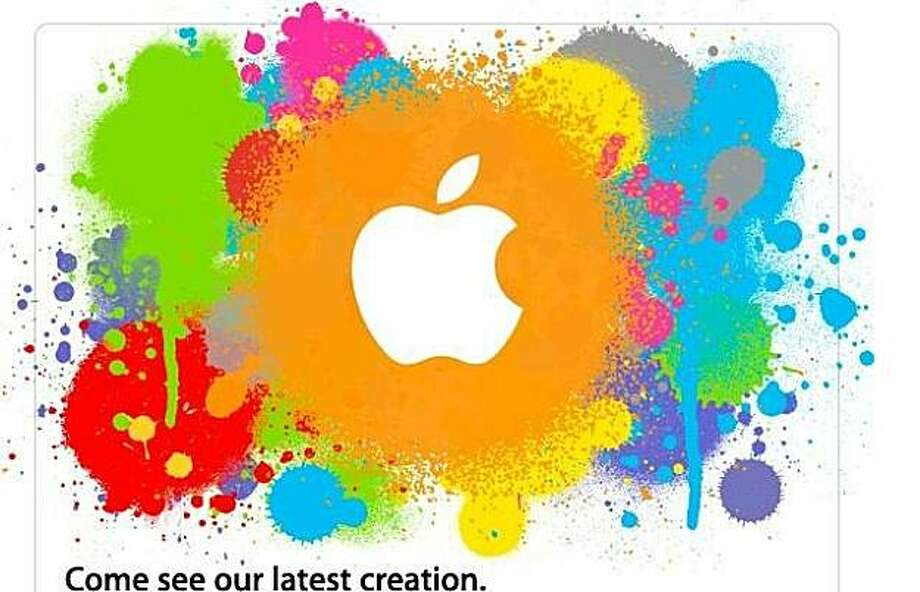 For Mark Morford column Photo: Apple