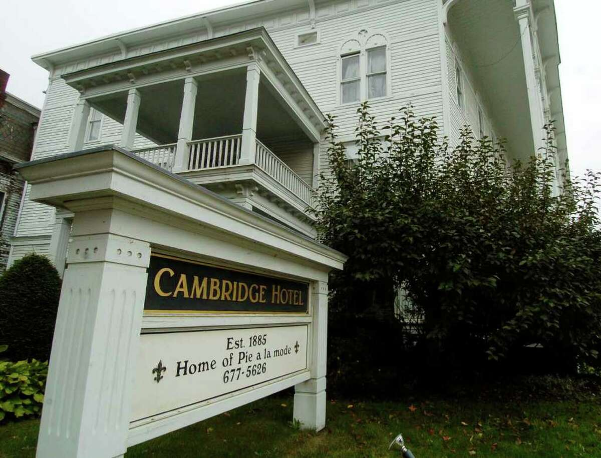 Cambridge Hotel on the main drag in Cambridge, NY, October 10, 2005. (Skip Dickstein / Times Union Archive)