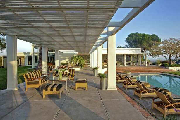 """A Chatsworth property known as Farralone and used as a film set for """"Mad Men,"""" is listed at $12 million."""