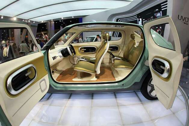 Kia Motors displays its Naimo concept car at the 2012 International Consumer Electronics Show at the Las Vegas Convention Center January 11, 2012 in Las Vegas, Nevada. Photo: Bruce Bennett, Getty Images / 2012 Getty Images
