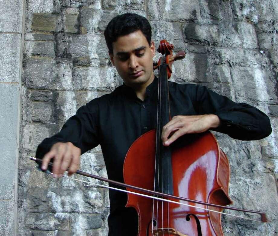 Cellist Raman Ramakrishnan Photo: Contributed Photo
