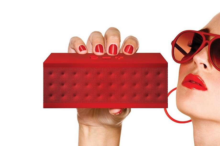 "Yves Behar's Fuseproject, an industrial design firm, partnered with Jawbone to make wireless speaker and speakerphone called a Jambox. The company states: ""All four sides of Jambox are wrapped in a single grill to cut down on moving parts. The perforated metal sheaths are textured to reduce vibration, and bear four distinct patterns that visually reflect sound in the form geometric patterns, this brings an artisan quality to the JAMBOX s pure box aesthetic."" Photo: Courtesy Of Fuseproject"