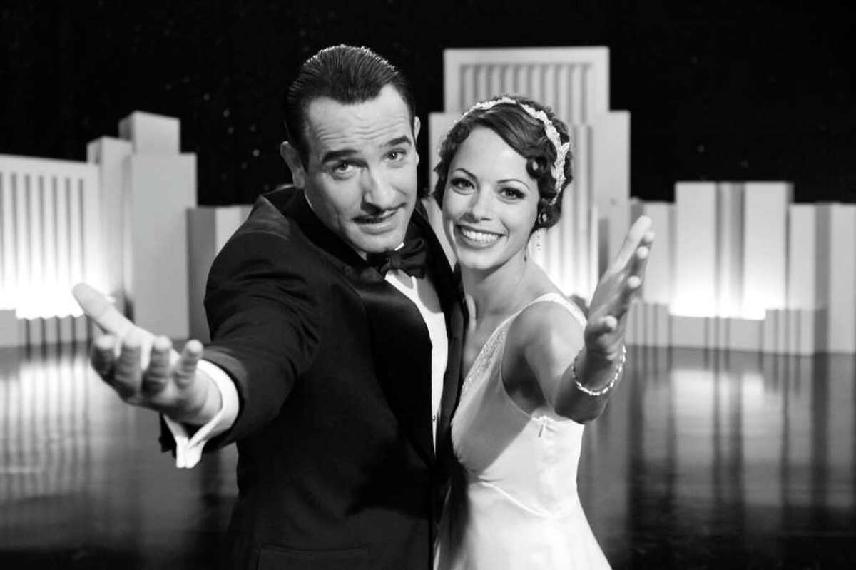 Jean Dujardin as George Valentin and Berenice Bejo as Peppy Miller in Michel Hazanavicius's film THE ARTIST Photo by: The Weinstein Company